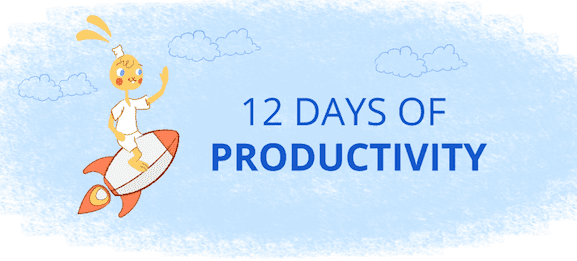 12 Days of Productivity in December