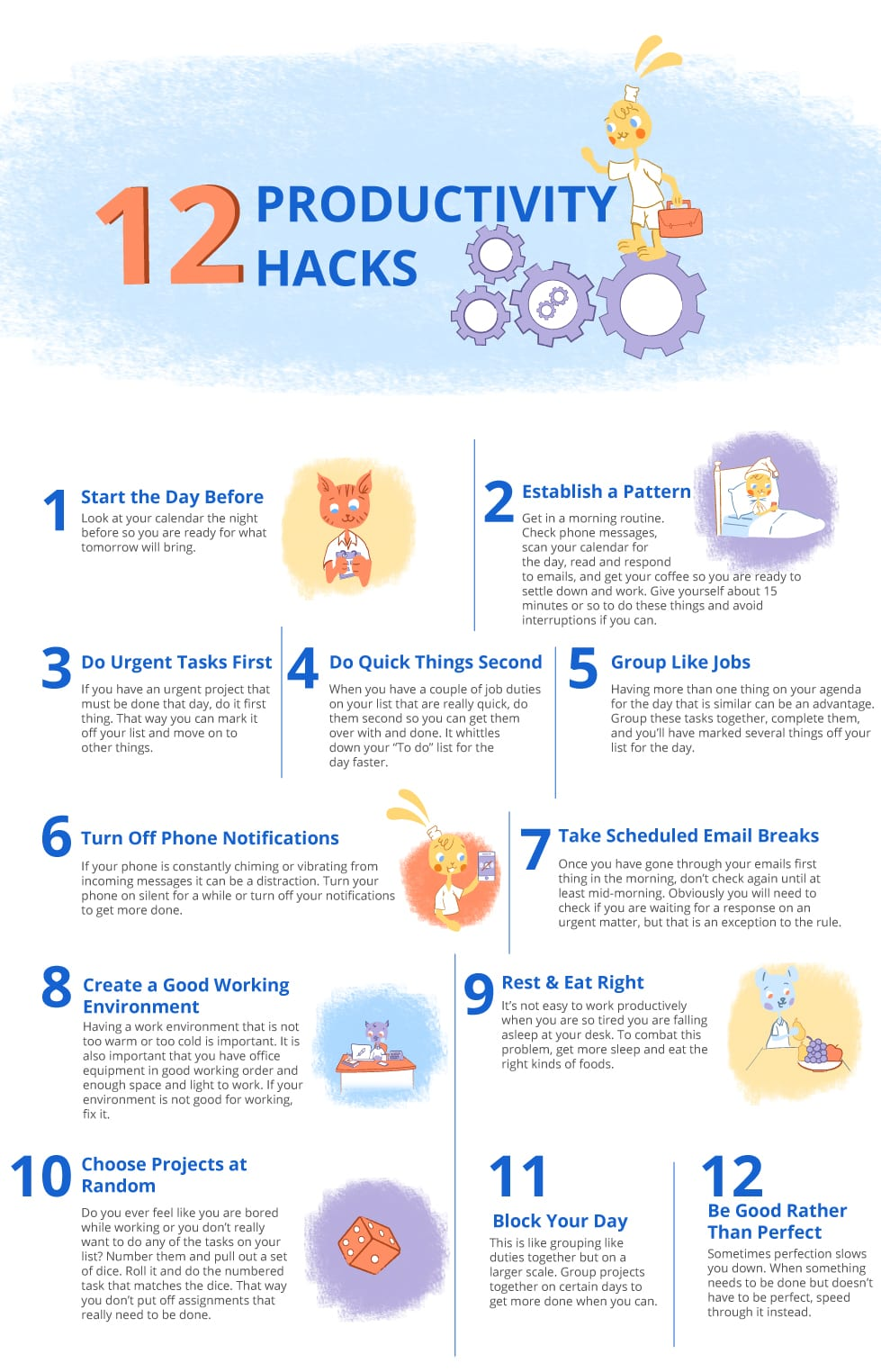 12 productivity hacks for Business Owners