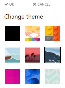 office 365 calendar themes