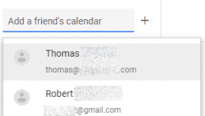 add a friend's calendar to google calendar