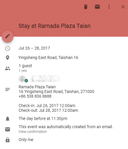 google calendar add from gmail