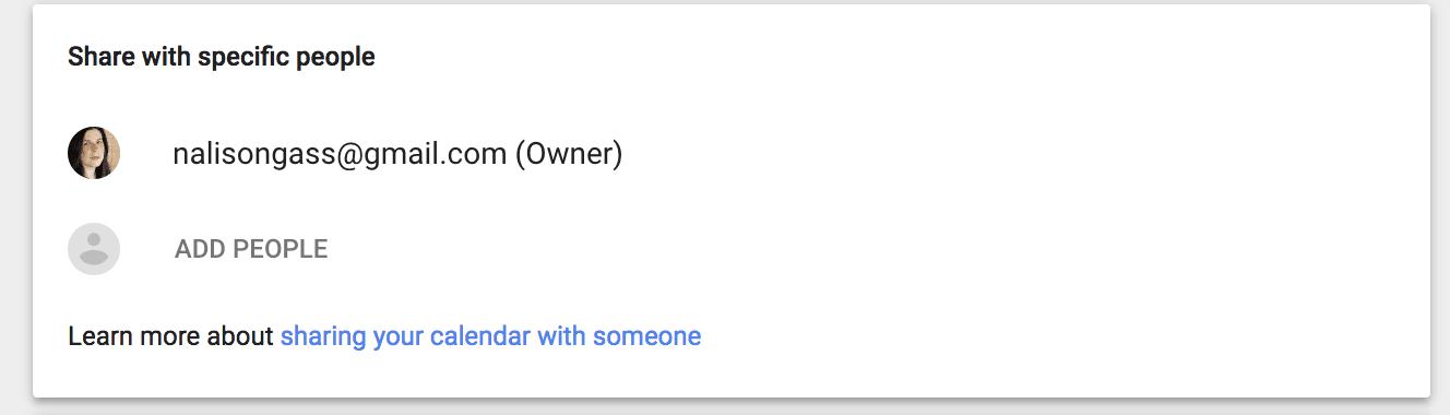 How Do I Share My Calendar By Using Google Calendar, Outlook