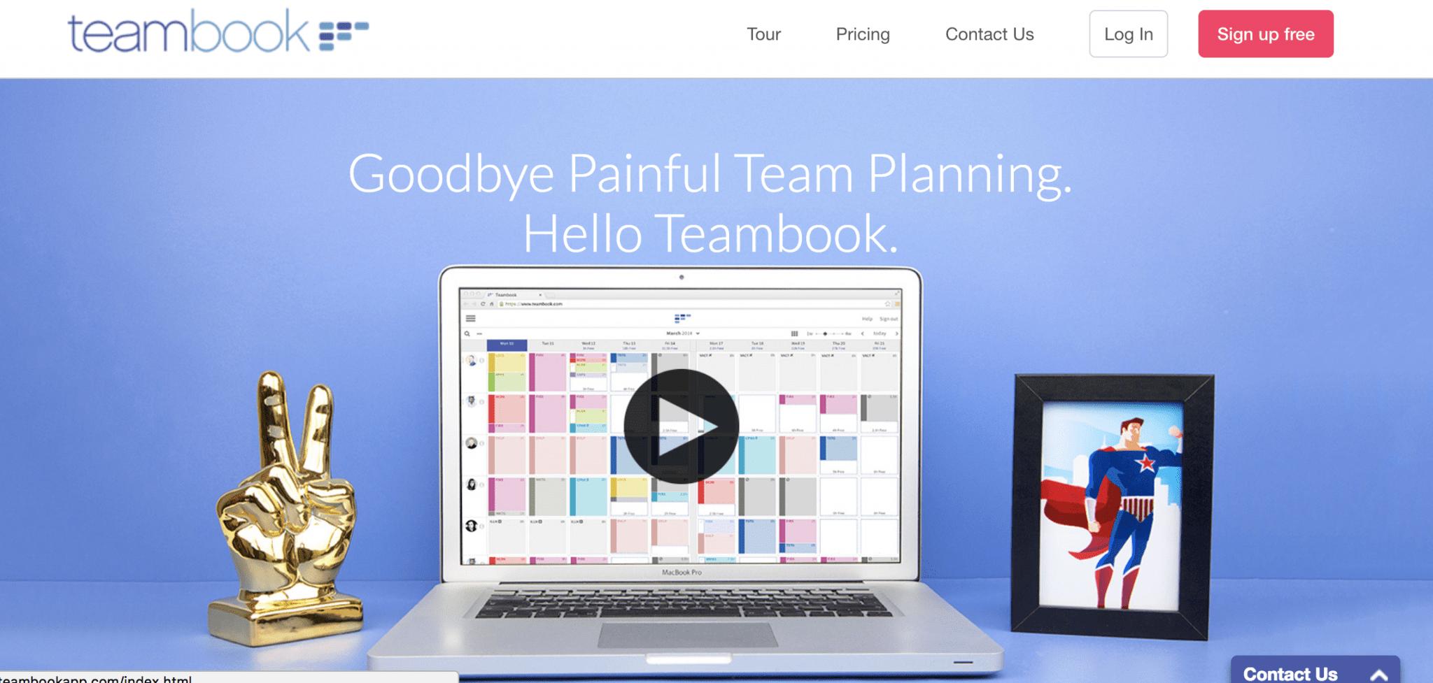 TeamBookCalendarIntegration