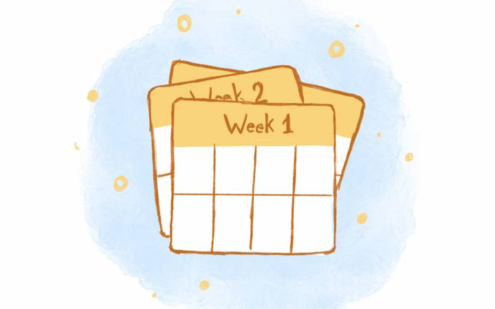 Have a Lot On Your Plate? Here's How to Organize Your Schedule