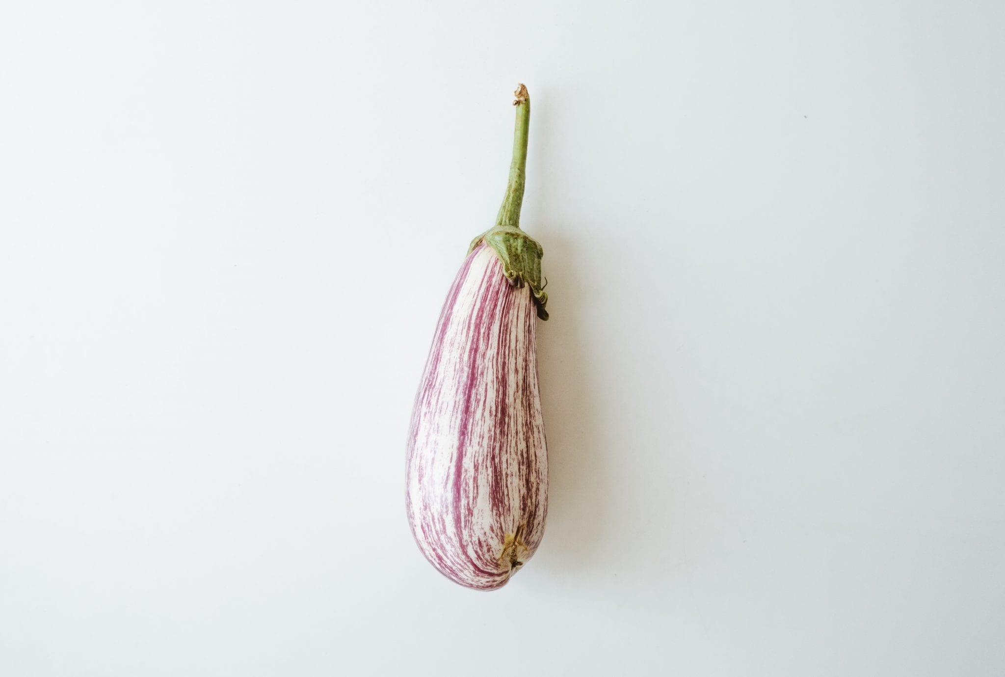 Eggplant health snack