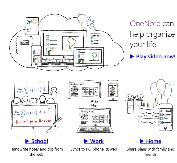 OneNote is a useful note-taking app.
