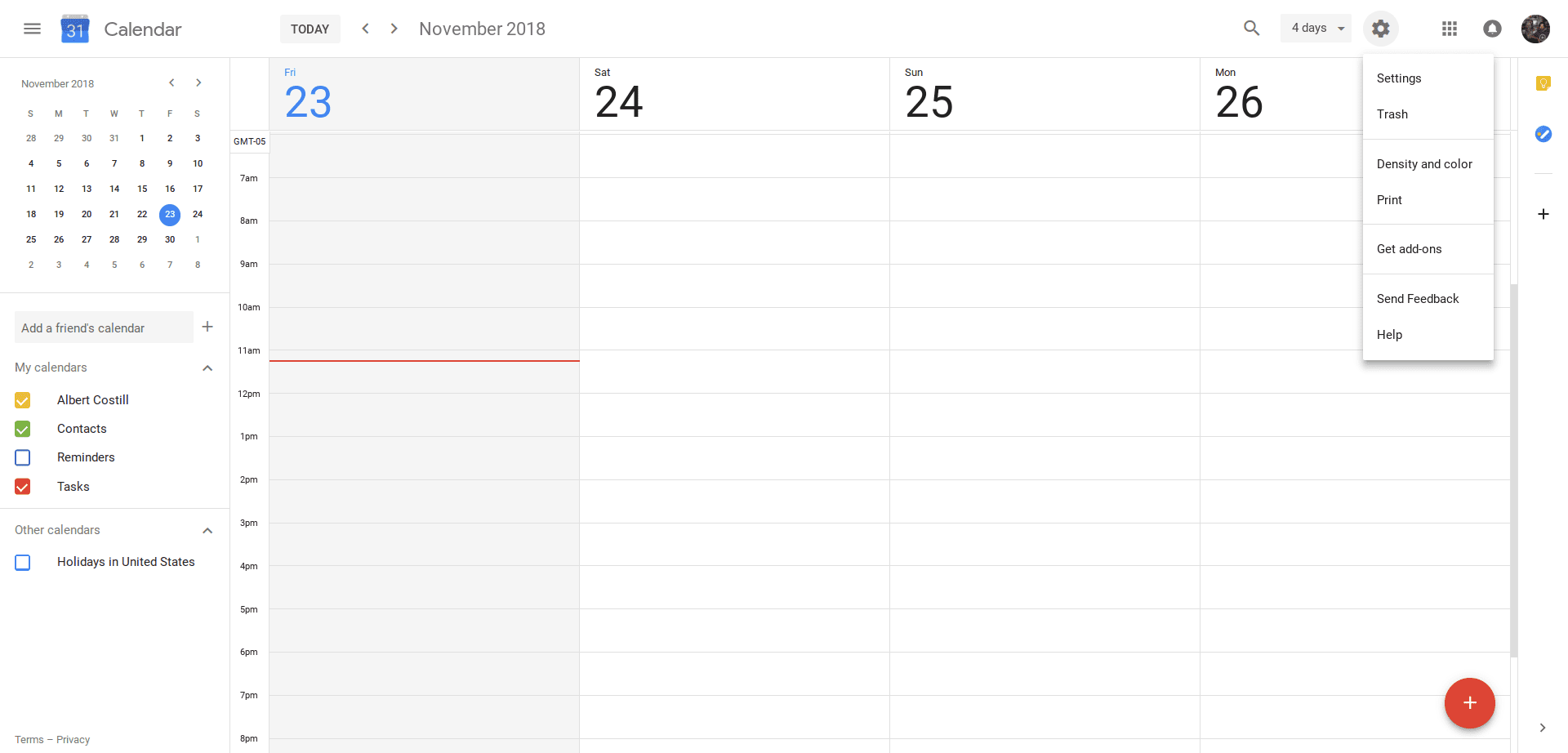 How To Disable Google Hangouts In Your Calendar - Calendar