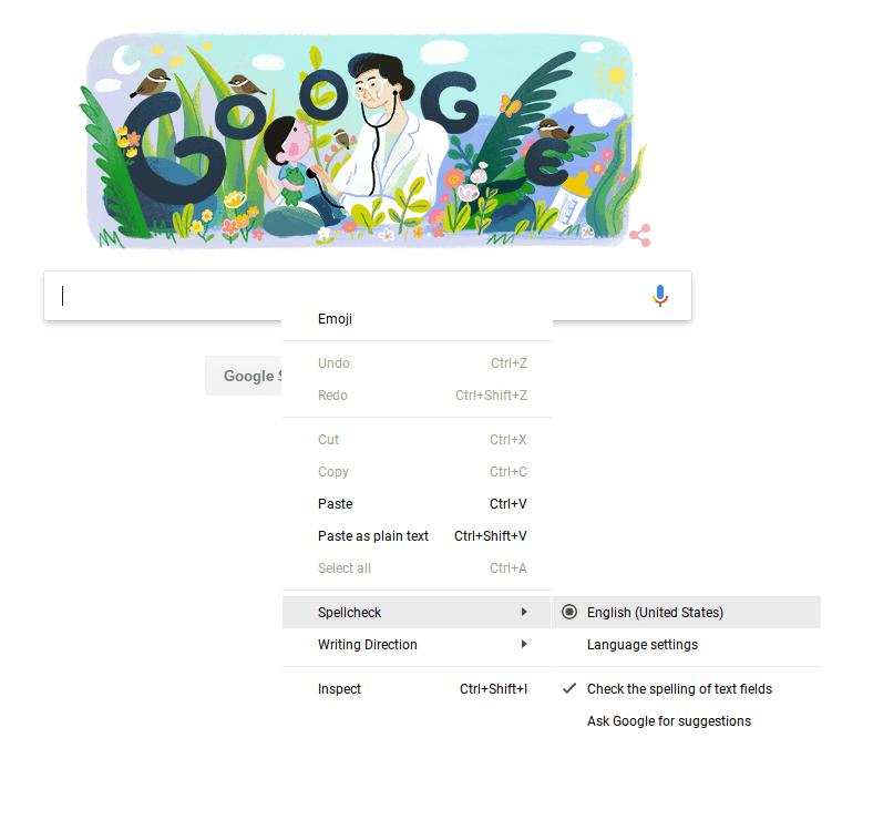 Google Chrome Spell Checker Not Working? - Calendar