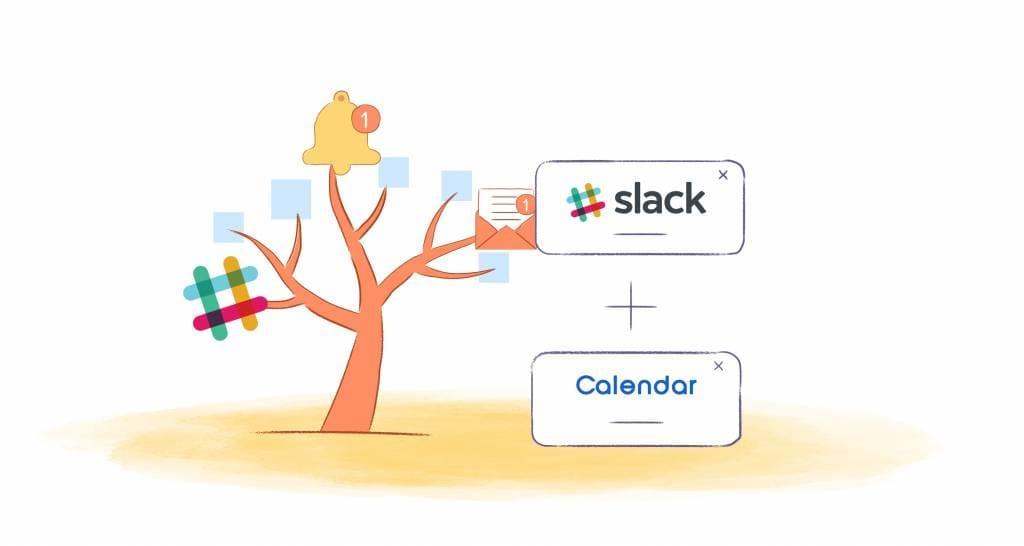 Calendar + Slack