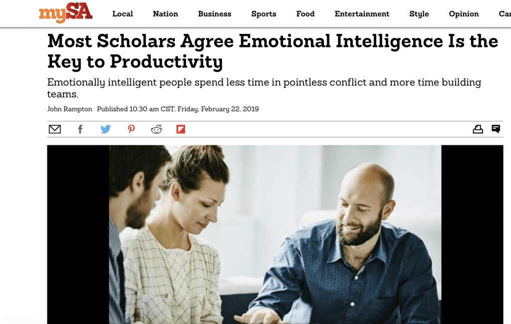 Emotional Intelligence and Productivity