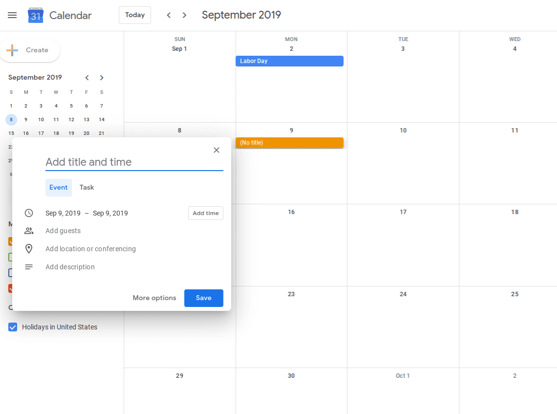improve your google calendar