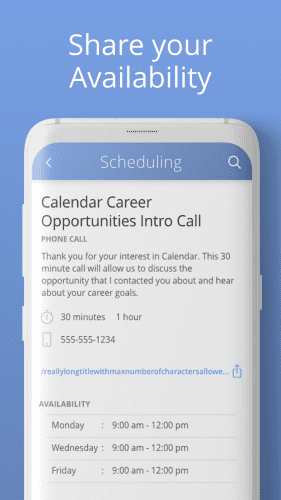 Calendar App For Android