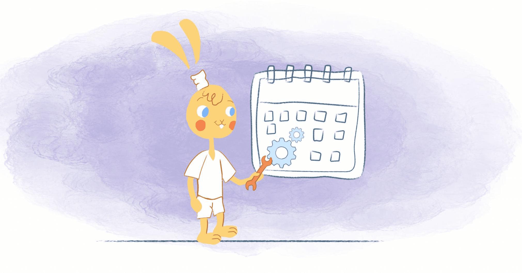 Formatting Your Calendar