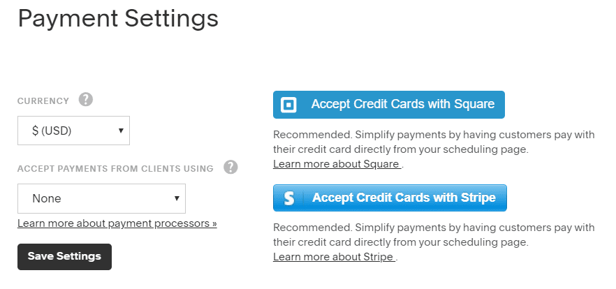 Accept Payments with Acuity Scheduling