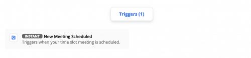 Calendar Triggers