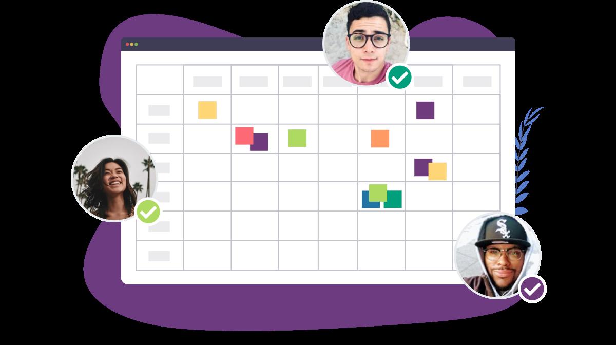 schedule meetings with calendar