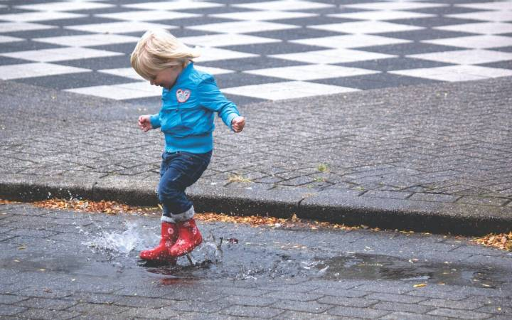 April Showers Bring May Flowers; How to Find Joy in the Rain